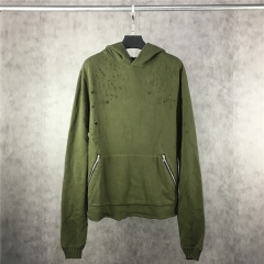 [NO.21]【L】AMIRI Bullet Hole Hoodie【Original price 199.90; Current price $29.9】