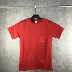 [NO.32]【XXL】I FEEL LIKE PABLO T-Shirt Burgundy【Original price 69.90; Current price $9.9】