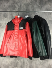 [No.163]【L】18FW Sup TNF Leather Jacket