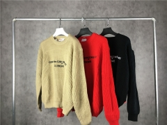 [No.171]【M,L,XL】18FW CDG x Sup Sweater