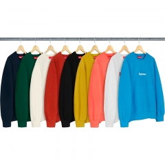 [No.200] 18FW Box Logo Crewneck 7 colors