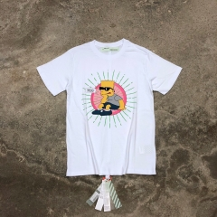 Free Shipping Off-White x Simpson Chill man Tee
