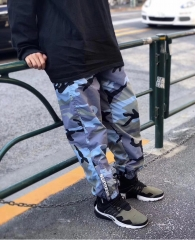 18SS Warm Up Pant Blue Camo