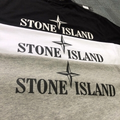 Free shipping Stone lsland Classic Letter Tee 3 Colors