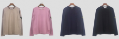 Stone lsalnd stripe crewneck 4 colors