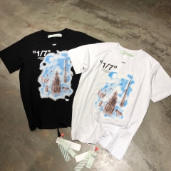 FREE SHIPPING OFF OW WHITE Dubai Limited T-Shirt