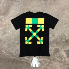 Free Shipping OW South Africa Limited Tee White Black