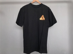 Free Shipping Palace x Bronze 56k gold logo tee black
