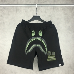 Free Shipping Bape x Und Logo Shark Shorts black