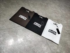 Free shipping Kith Logo Tee 3 colors