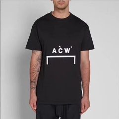 Free shipping A Cold Wall Classic Logo tee black