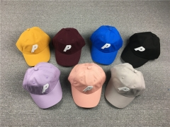 Free shipping Palace Classic P logo 6 panel cap 8 colors
