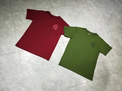 Free shipping Assc Logo Tee burgundy Olive
