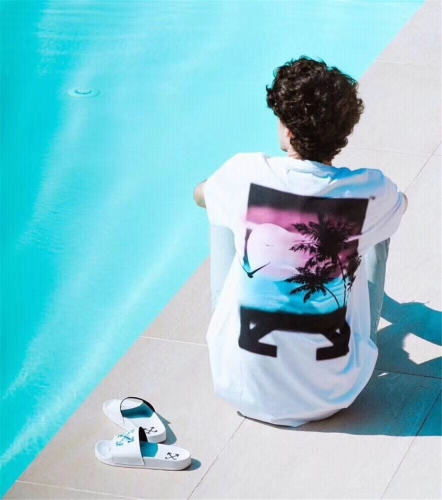 FREE SHIPPING OFF WHITE OW GREECE LIMITED COCO TREE TEE