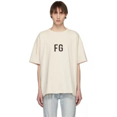 FREE SHIPPING FEAR OF 19SS GOD FG TEE