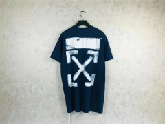 FREE SHIPPING OFF OW WHITE 23 TEE NAVY BLUE