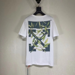 FREE SHIPPING OFF OW WHITE Deciduous Short Tee