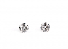 Free Shipping S925 silver Zircon Earrings