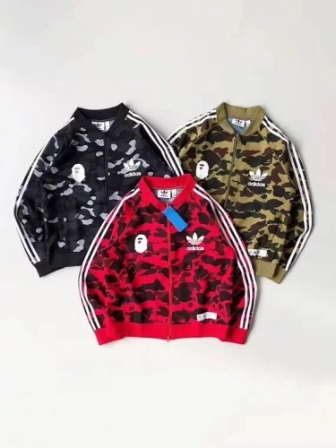 SALE Free shipping Bape Camo Sports Jacket 3 colors