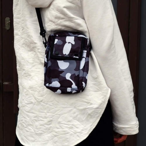 Free shipping Bape City Camo Shoulder Bag
