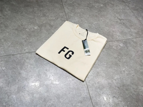 Free shipping Fear of God 6th logo tee