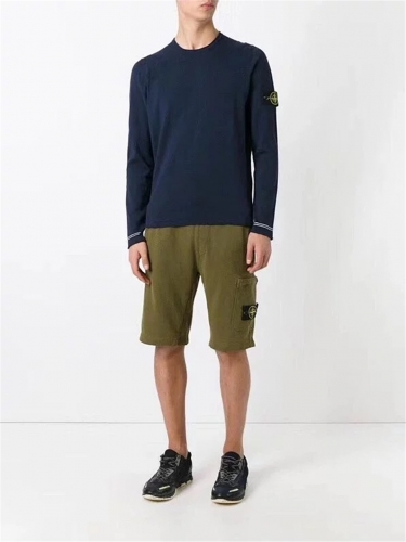 Free shipping Pocket shorts Navy blue Olive