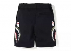 Bape 19SS Double Knit Side Shark Shorts