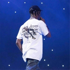 Free shipping Astroworld Travis Scott x Virgil Abloh tee.
