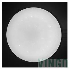 16W LED Deckenleuchte Kaltweiß Starlight Effekt Schön Rund Korridor ...