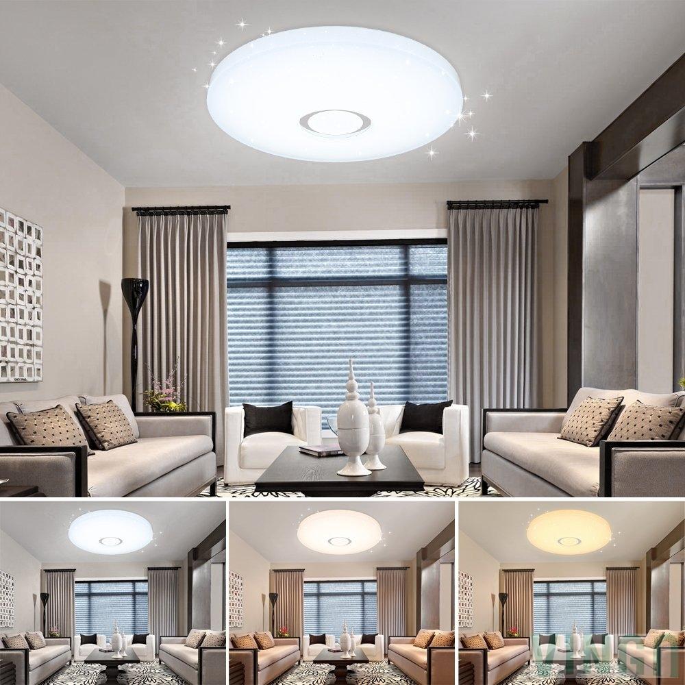 16w led farbwechsel esszimmer deckenleuchte modern starlight effekt wand deckenleuchte - Deckenleuchte esszimmer ...