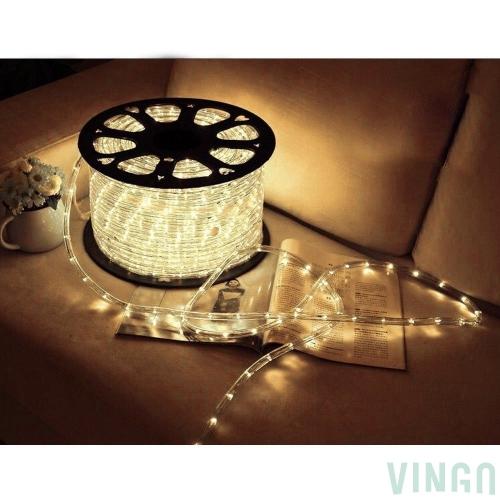 10m led lichtschlauch lichterkette dekolicht fensterbeleuchtung f r au en innen weihnachten - Fensterbeleuchtung innen ...