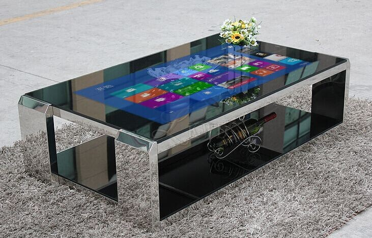 42 Quot Multi Touch Table Interactive Coffee Table Metal Table