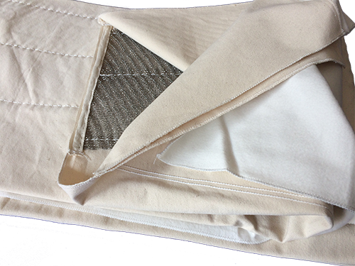 L-072 Ironer Wax Padding/Stainless Steel Conditioning Cloth