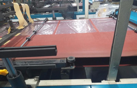 Film Bag Hot Cutting Machine Silicone conveyor belts