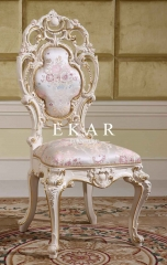 Baroque Style Hollow-out Design Furniture Chair