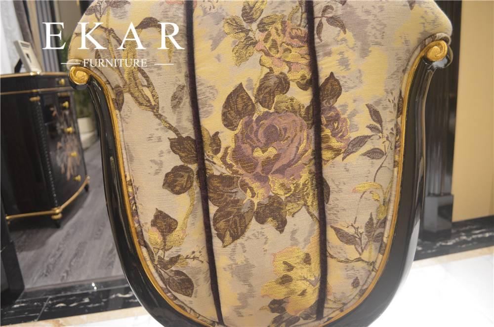 Best Value Flower Pattern Tufted Armchair Sale - Ekar ...