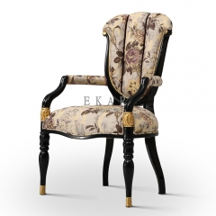 Best Value Flower Pattern Tufted Armchair Sale