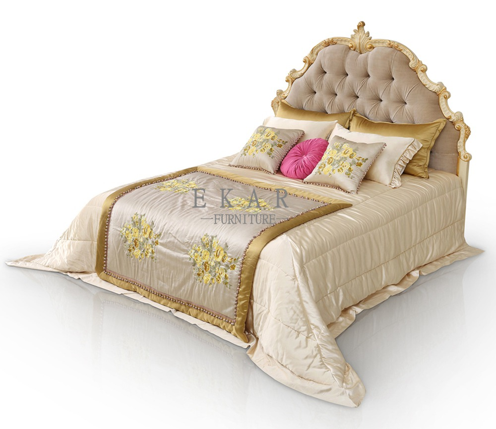 Full Size Tufted Upholstered Headboard King Bed Frames For Sale Ekar Furniture