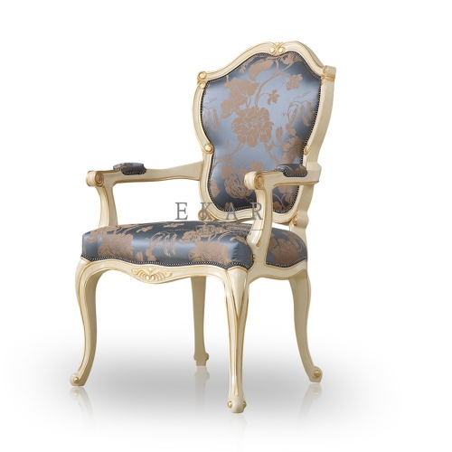 Classic High Back Room Armchair Dining Chair