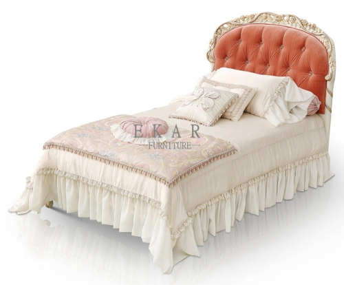 Girls Single Bed New Frames Full Size Upholstered Headboard For Sale