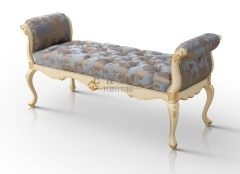 Luxury Royal Bedroom Bench