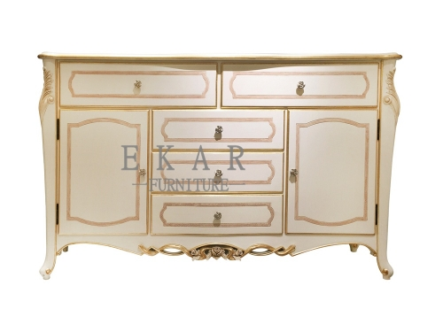 Big White Wooden Dwawer Chest/Dresser/Dresser Drawer/Bedroom Furniture