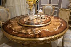 Veneered Round Wooden Dining TableWooden  Dining Table/Kitchen Table/Dinette Table