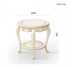 Home Use Marble Corner End Tables