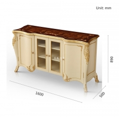 Hotsale Antique Queen Style Sideboard/Meals Side