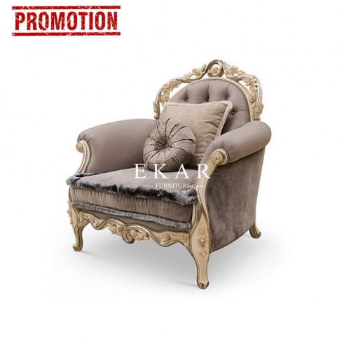 Luxury New Model 1 2 3 European Design Royal Leather Sofa Set