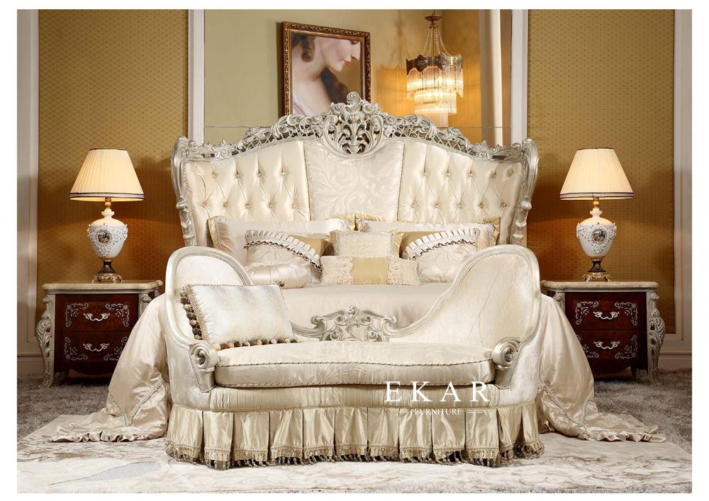 Saudi Luxury Villa Bedroom Furniture Set