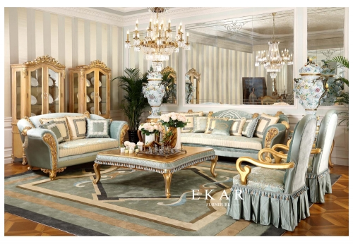 Royal Palace Style Living Room Sofa