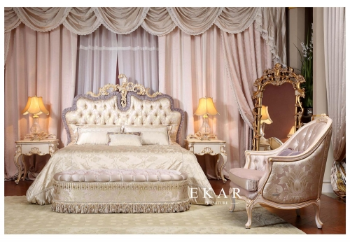 French Style Mansion Bedroom Furniture Set