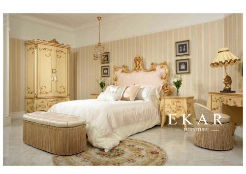 Luxury and classic bedroom furniture set